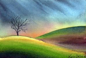 lonesome tree by karincharlotte