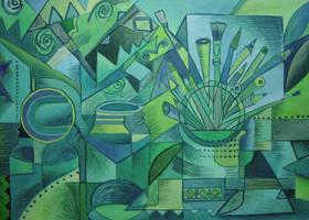 My cubist period by karincharlotte