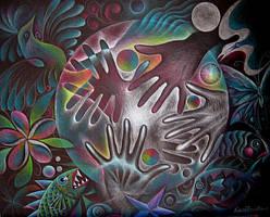 Creation Mandala by karincharlotte