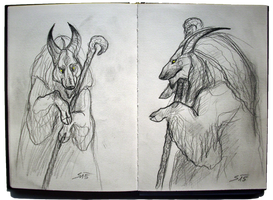 Sketchbook: Original Character Design by TheUrbanFox
