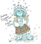 AT OC Washtub Princess by VulpisMajor