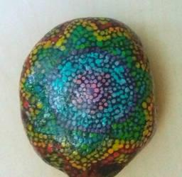 Mandala Stone  by GD-Firefly