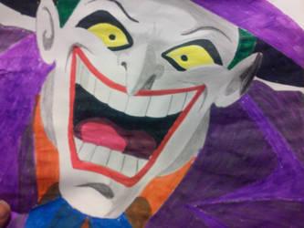 Joker In color by BlackAnubis452