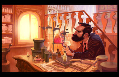 The Chemist by petura