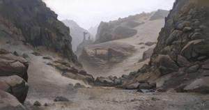 Rocky path by petura