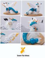 Tea Sculpture Close ups by Sweet-Fox-Wings