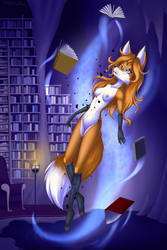 Amber's Secret Library (NSFW) by Mancoin