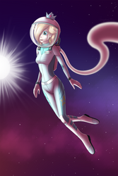 Commission: Space walk by Mancoin