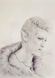 Kris fanart - Neverland: Portrait of the Wild by e11ie