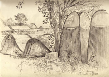 Sketches of the pilgrimage III by Kwasibor