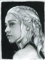 Daenerys Targaryen - The Mother of Dragons by ChrisRamirezArtwork