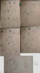 Sketch Dump 1 by nightrelic