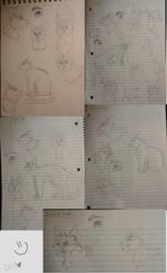 Sketch Dump 2 by nightrelic
