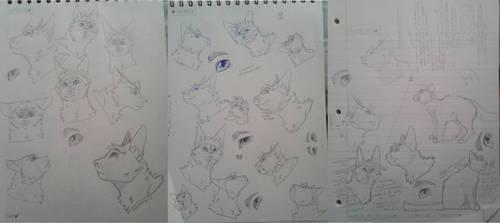 Sketch Dump 3 by nightrelic