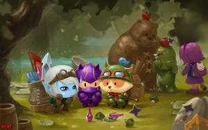 Teemo's trainning day by LeeKent