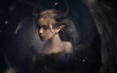 Maleficent by LeeKent