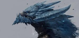 Ice Dragon by LeeKent
