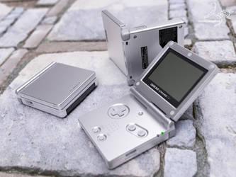 GameBoy Advance SP by j-martin