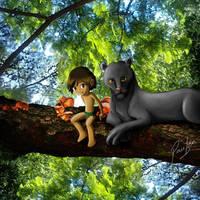 Jungle boy by Pautzin