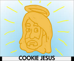 Cookie Jesus by Torrential-E