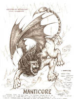 manticore by artstain