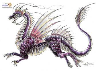 OC- Water Dragon by artstain