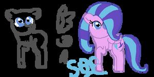 My Little Pony Base by Shiningbrightpony