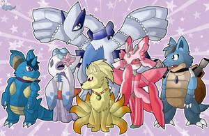 My Pokemon team by Ktchelle