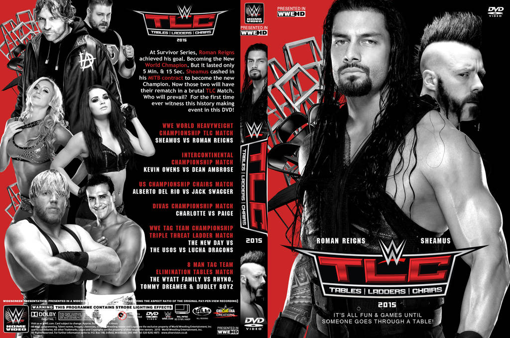 WWE 2015 DVD Covers by Chirantha on DeviantArt