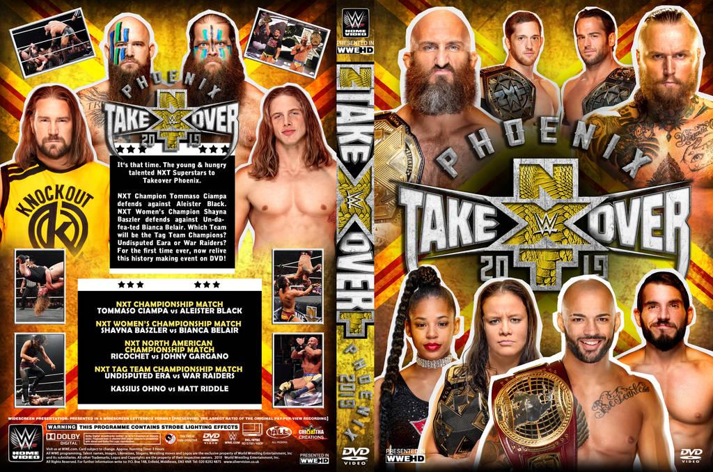 Resultado de imagen para WWE NXT TakeOver Phoenix 2019 dvd