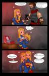 Supergirls and Mr Ninja pg7 by LexiKimble
