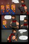 Supergirls and Mr Ninja pg8 by LexiKimble