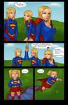Supergirls and Mr Ninja pg 18 by LexiKimble