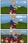 Supergirls and Mr Ninja pg 20 by LexiKimble