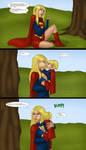 Supergirls and Mr Ninja pt28 by LexiKimble
