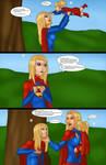 Supergirls vs Mr Ninja p29 by LexiKimble