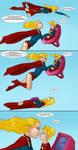 Supergirls vs Mr Ninja pg 32 by LexiKimble