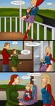 Supergirls and Mr Ninja pg 35 by LexiKimble