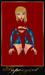 Negative Supergirl by LexiKimble