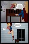 Supergirls and Mr Ninja pg 52 by LexiKimble