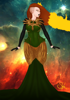 Phoenix Dress by LexiKimble