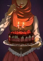 Gift_Happy Birthday Princess by SketchyMate