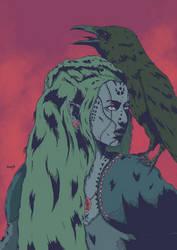 Huntress Shaman colors by Marvelzukas