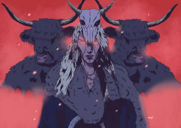 Huntress priest color v2 by Marvelzukas