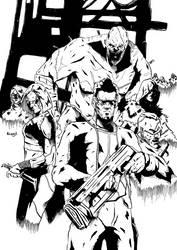 TABLETOP LINEUP inks by Marvelzukas