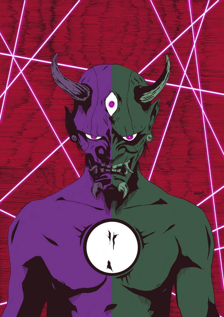 Demons Inside color by Marvelzukas