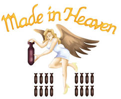 RE2 - Made In Heaven logo by ryuuza-art