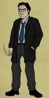 Week 10 - Inspector Cass by ryuuza-art
