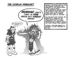 Week 24 - 'Cosplay Pernicket' by ryuuza-art