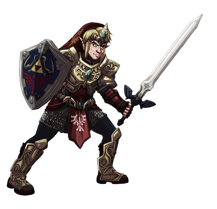 Magic Armour Link by ryuuza-art